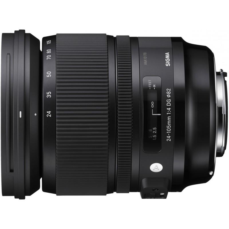 Sigma 24-105mm f/4.0 DG OS HSM Art objektiiv Canonile