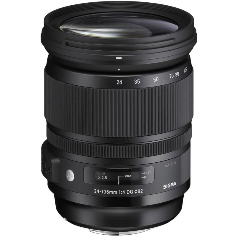 Sigma 24-105mm f/4.0 DG OS HSM A objektiiv Canonile