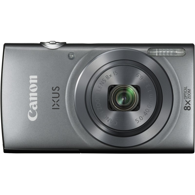 Canon Digital Ixus 165, серебристый