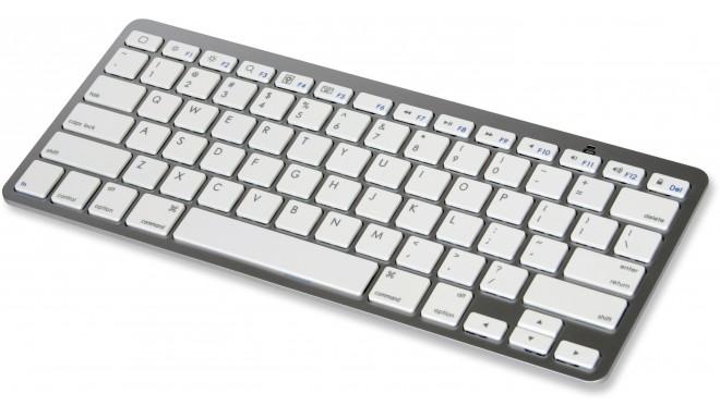 Omega Bluetooth klaviatūra OKB003, balta (41419)