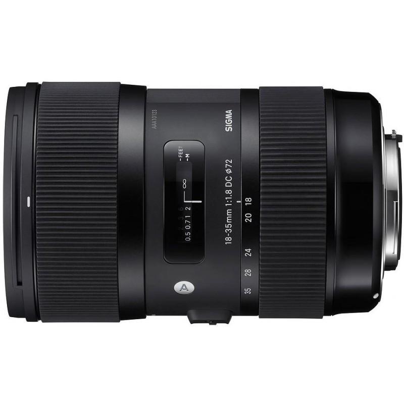 Sigma 18-35mm f/1.8 DC HSM Art objektiiv Sonyle