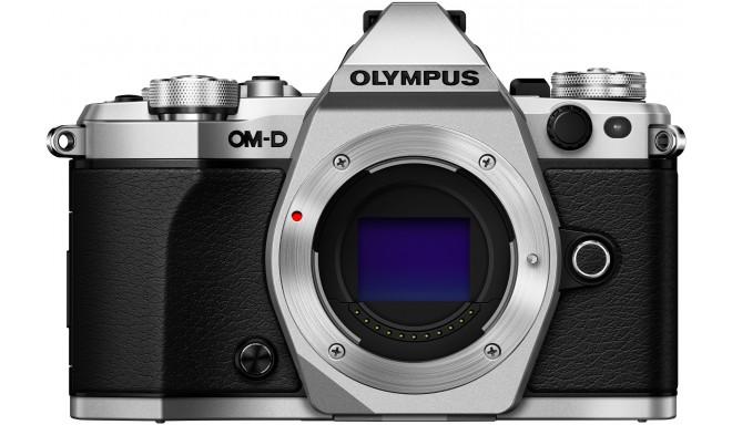 Olympus OM-D E-M5 Mark II  kere, hõbedane