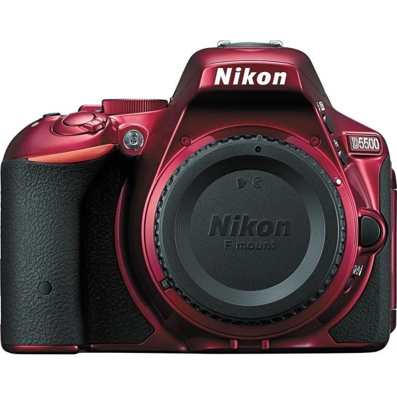 Nikon D5500  kere, punane