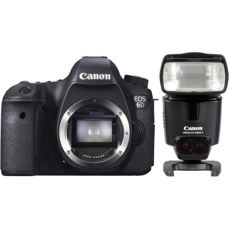Корпус Canon EOS 6D + 430EX II