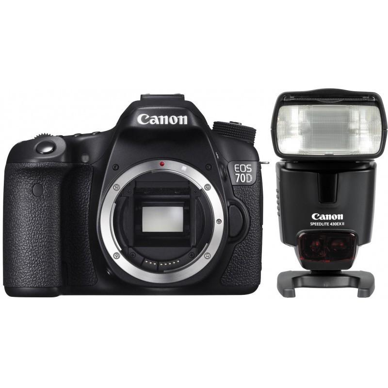 Корпус Canon EOS 70D + 430EX II