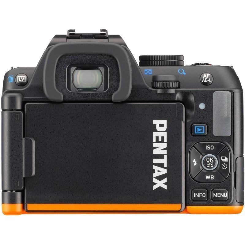 Pentax K-S2 kere, must/oranþ