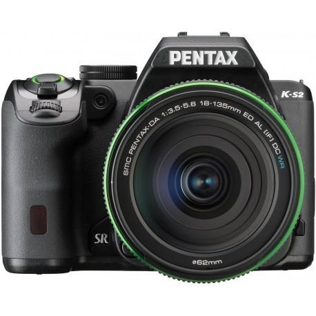 Pentax K-S2 + 18-135мм WR Kit, чёрный