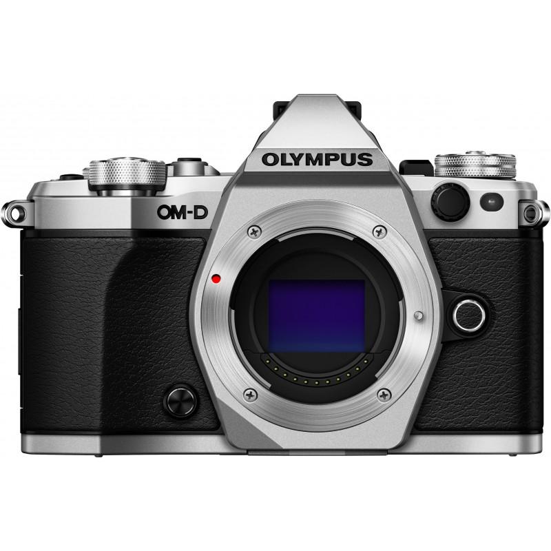Olympus OM-D E-M5 Mark II + Tamron 14-150mm, hõbedane