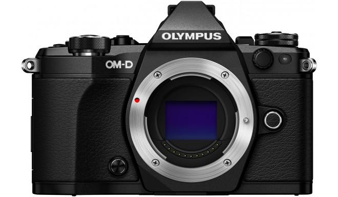 Olympus OM-D E-M5 Mark II + Tamron 14-150мм, черный