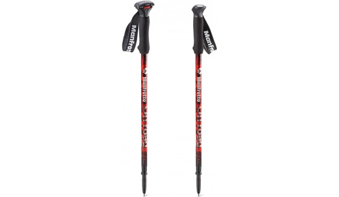 Manfrotto üksjalg OffRoad Walking Sticks MMOFFROADR, punane