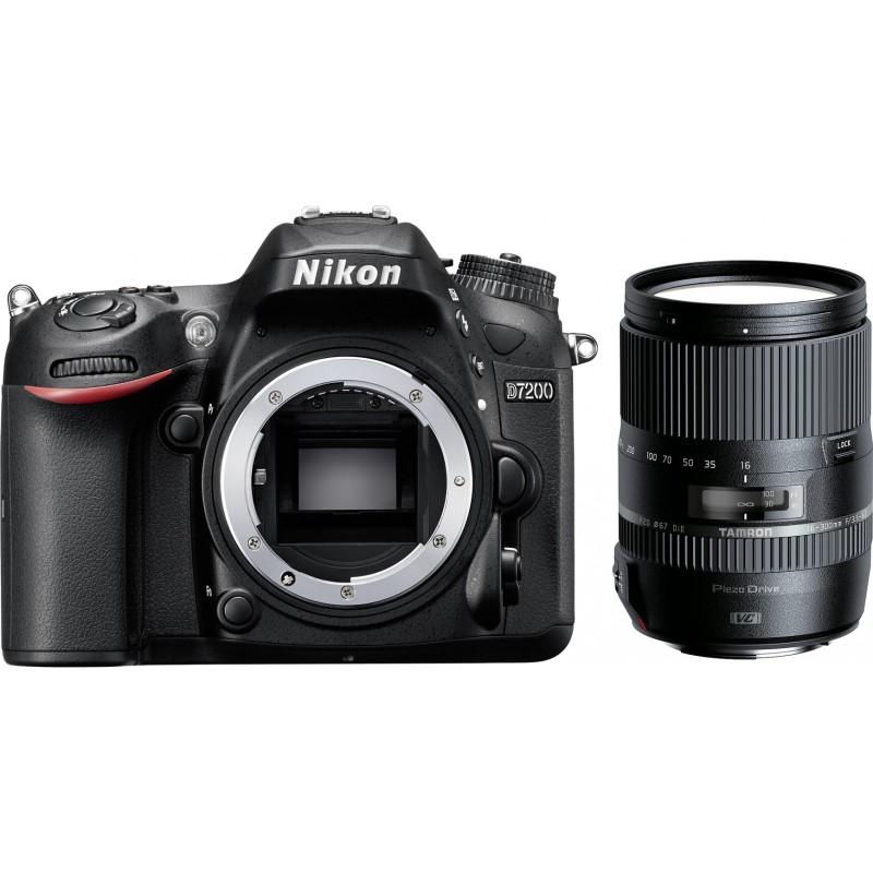 Nikon D7200 + Tamron 16-300mm VC PZD