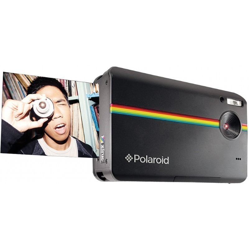 how to delete pictures on polaroid z2300