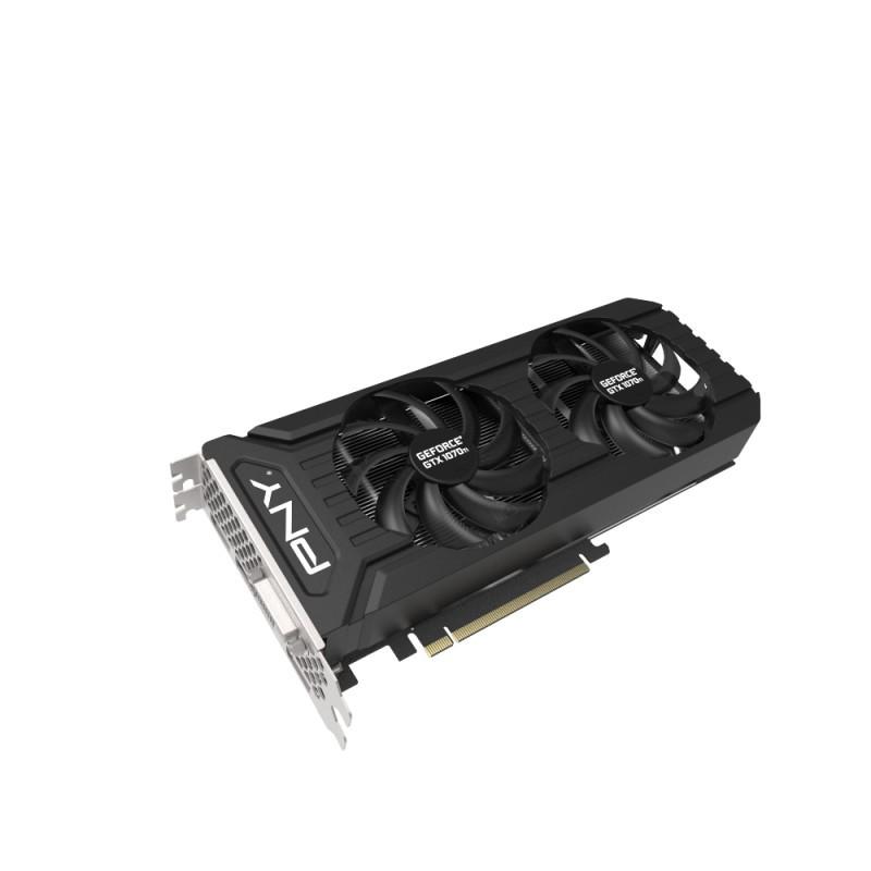 PNY GeForce GTX 1070 TI Twin Fan, 8GB GDDR5 (256 Bit), HDMI, DVI, DP