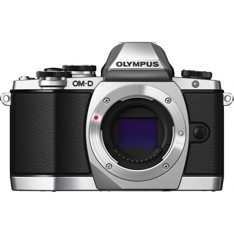 Olympus OM-D E-M10 + 14-150mm II Kit, hõbedane/must