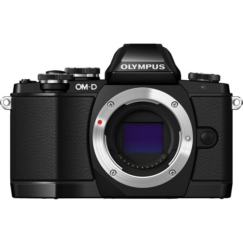 Olympus OM-D E-M10 + 14-42mm EZ + ECG-1 grip Kit, black