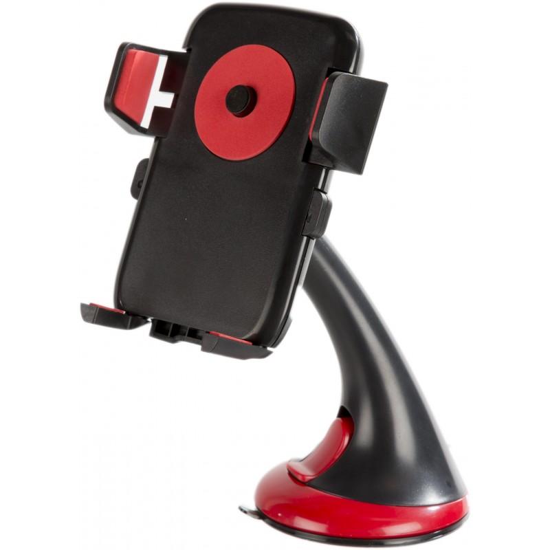 Omega universaalne telefonihoidik autosse Fig, punane (OUCHFR)