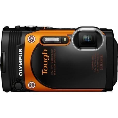 Olympus TG-860, oranž