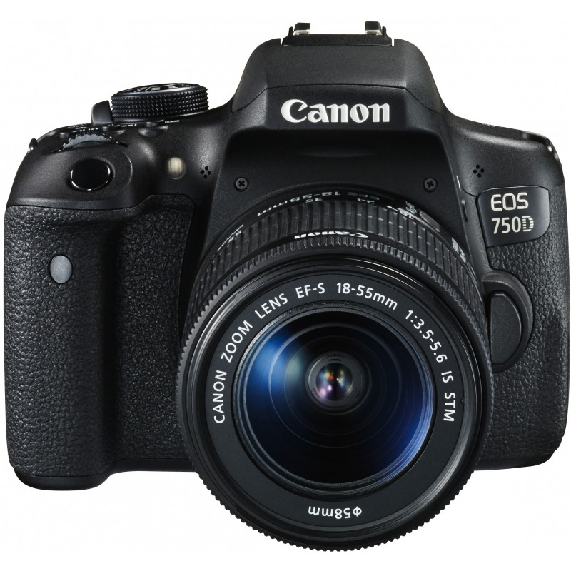 Canon EOS 750D + 18-55mm IS STM Kit