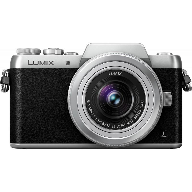 Panasonic Lumix DMC-GF7 + 12-32mm Kit, hõbedane
