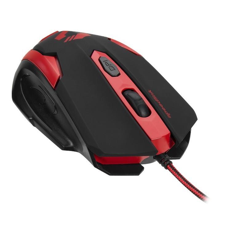 Speedlink hiir Xito Gaming, punane/must (SL-680009-BKRD)