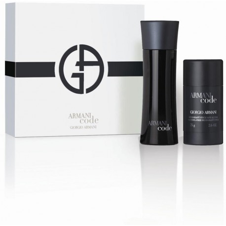 Giorgio Armani Black Code Pour Homme Eau de Toilette 75ml + pulkdeodorant 75ml