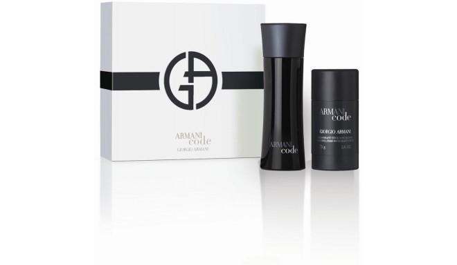 Giorgio Armani Black Code Pour Homme Eau de Toilette 75ml + dezodorants-zīmulis