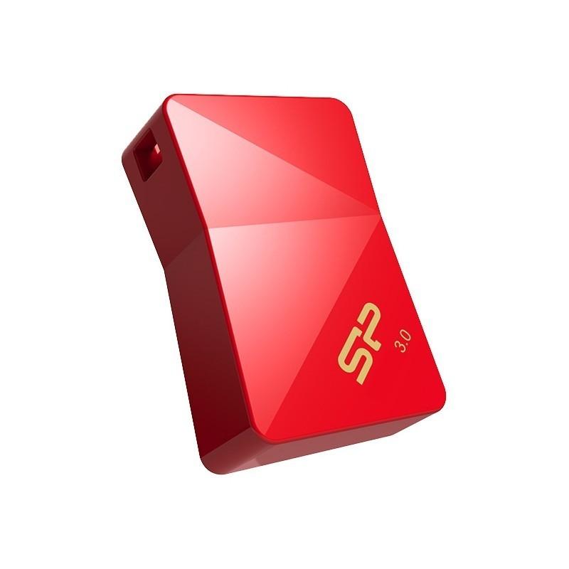 Silicon Power flash drive 16GB Jewel J08 USB 3.0, red