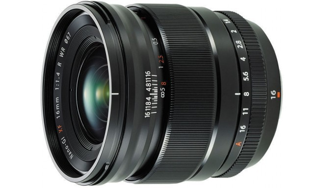 Fujinon XF 16mm f/1.4 R WR objektiiv
