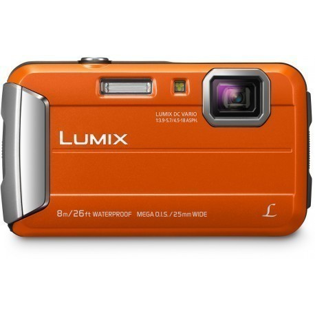 Panasonic Lumix DMC-FT30, oranžs