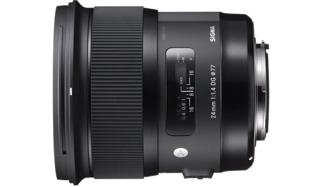 Sigma 24mm f/1.4 DG HSM Art objektiiv Canonile
