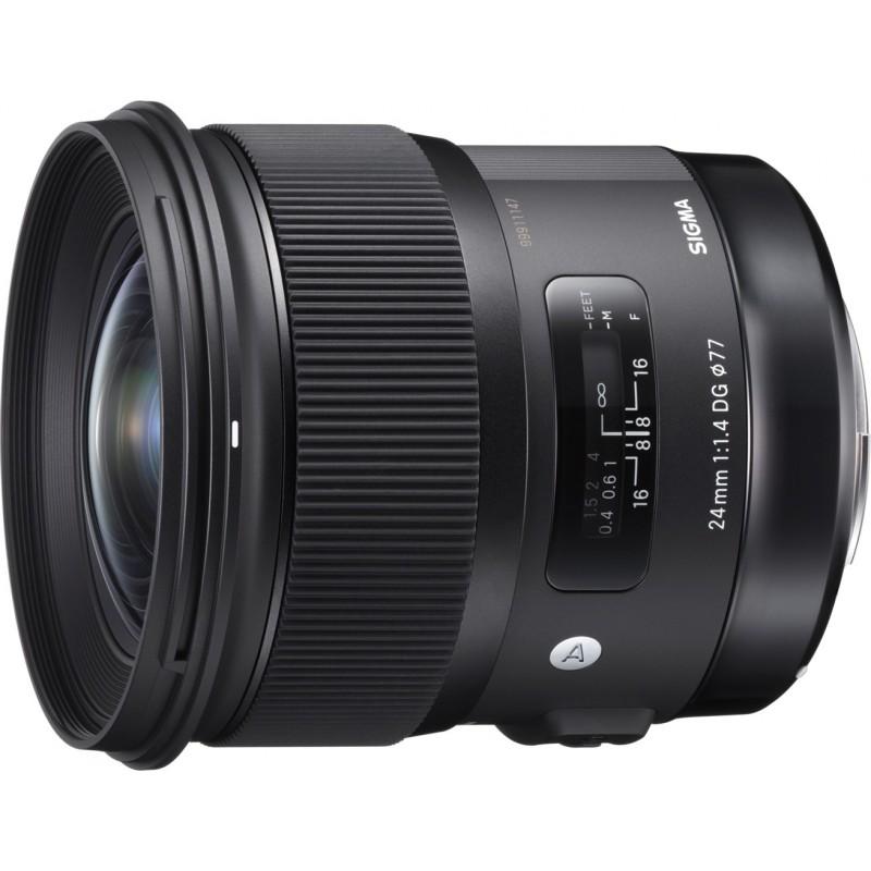 Sigma AF 24mm f/1.4 DG HSM A objektiiv Canonile
