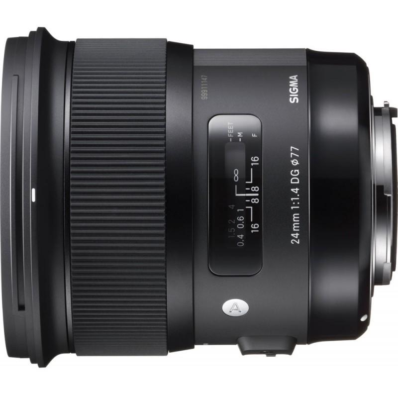 Sigma 24mm f/1.4 DG HSM Art objektiiv Nikonile