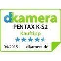 Pentax K-S2 + 18-135мм WR Kit, чёрный/оранжевый
