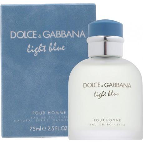 Dolce&Gabbana Light Blue Pour Homme Eau de Toilette 75ml