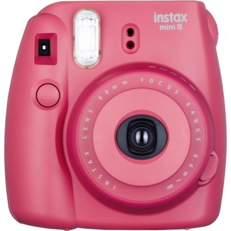 Fujifilm Instax Mini 8, tumeroosa