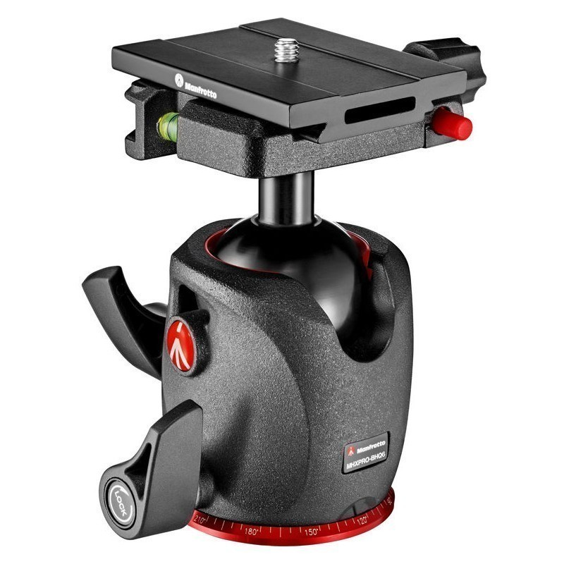 Manfrotto kuulpea MHXPRO-BHQ6 Ball Head with Top Lock