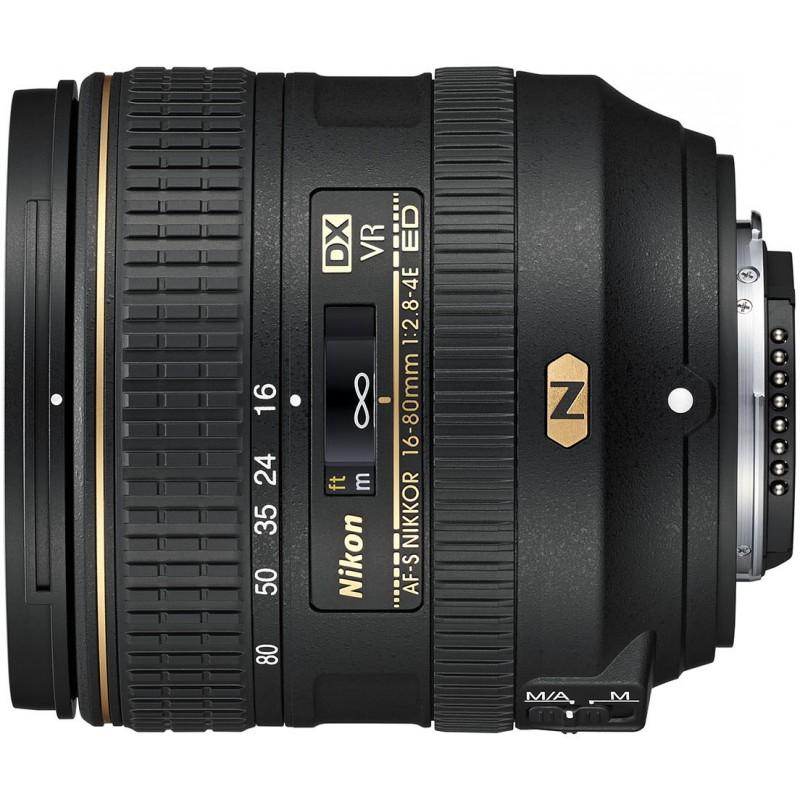 Nikon AF-S DX Nikkor 16-80mm f/2.8-4.0E ED VR objektiiv