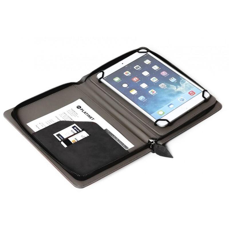 """Platinet tablet case 7,85"""" Wall Street, black (42924)"""