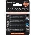 Panasonic eneloop rechargeable battery pro AA 2500 4BP
