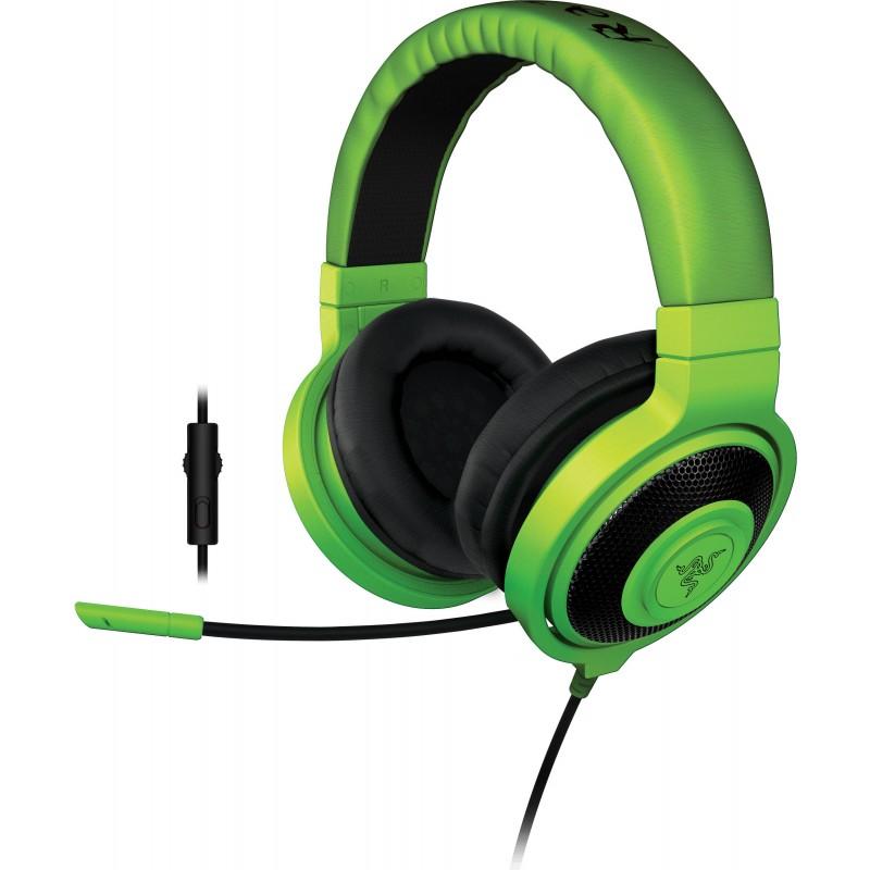 Razer kõrvaklapid + mikrofon Kraken Pro 2015, roheline