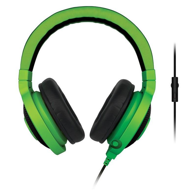 Razer kõrvaklapid + mikrofon Kraken Pro, roheline