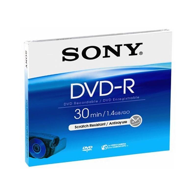 DVD-R Sony 1,4GB Mini 30min.