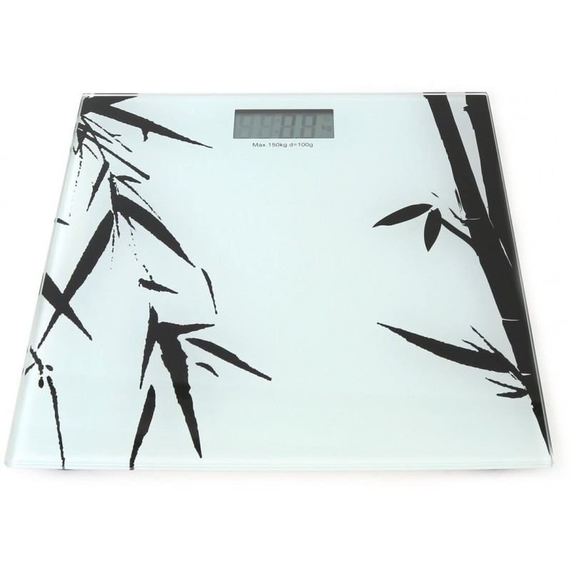 Omega bathroom scale Bamboo OBS2C