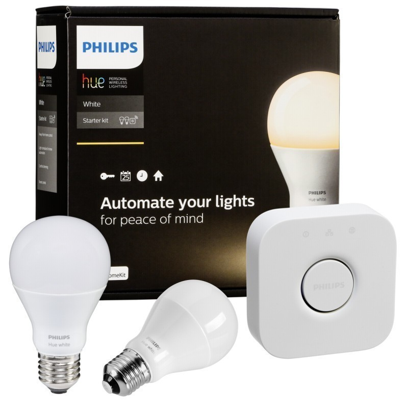 philips hue led bulb e27 starter set white smart. Black Bedroom Furniture Sets. Home Design Ideas