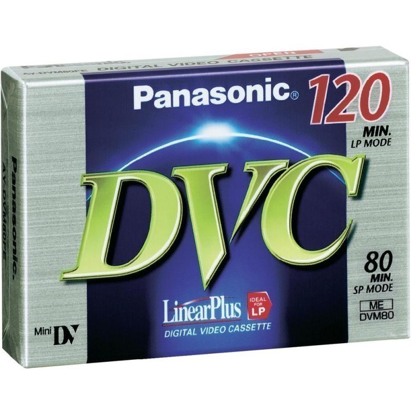 Panasonic tape DVM 80 FE - MiniDV tapes - Nordic Digital