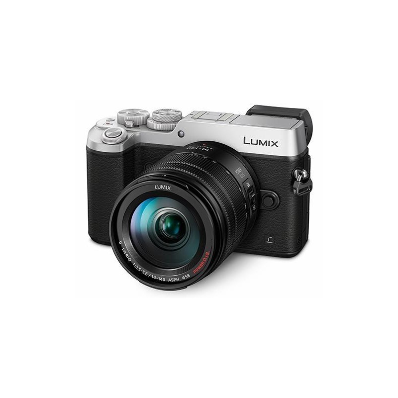 Panasonic Lumix DMC-GX8 + 14-140мм Kit, серебристый