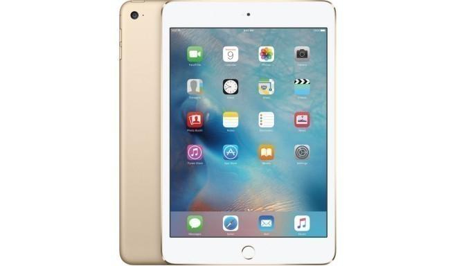 Apple iPad Mini 4 16GB WiFi + 4G, золотистый