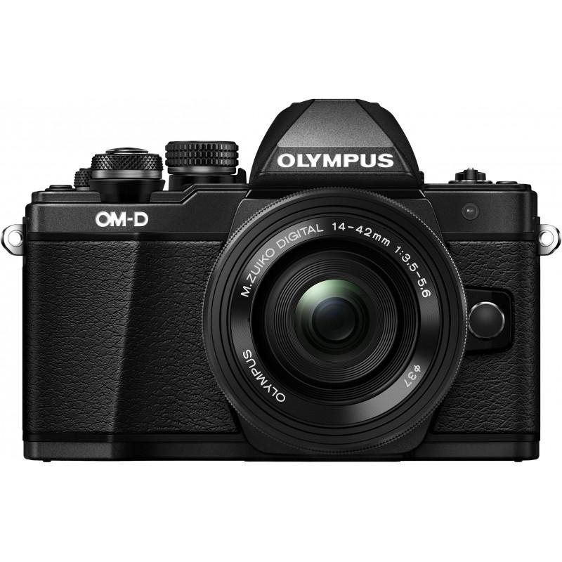Olympus OM-D E-M10 Mark II + 14-42мм EZ Kit, черный