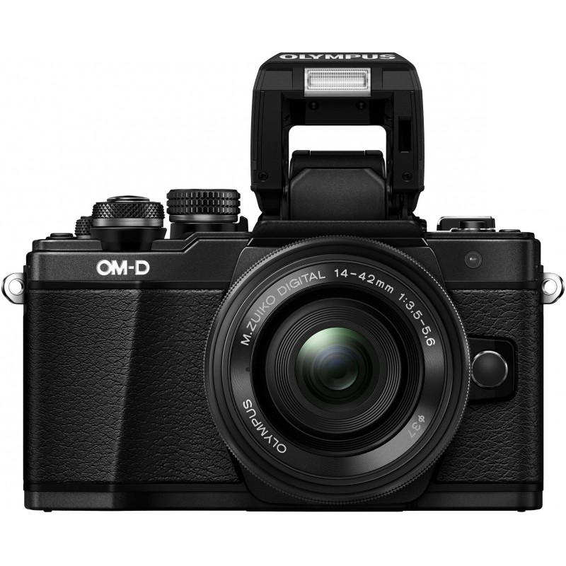 Olympus OM-D E-M10 Mark II + 14-42mm EZ Kit, black