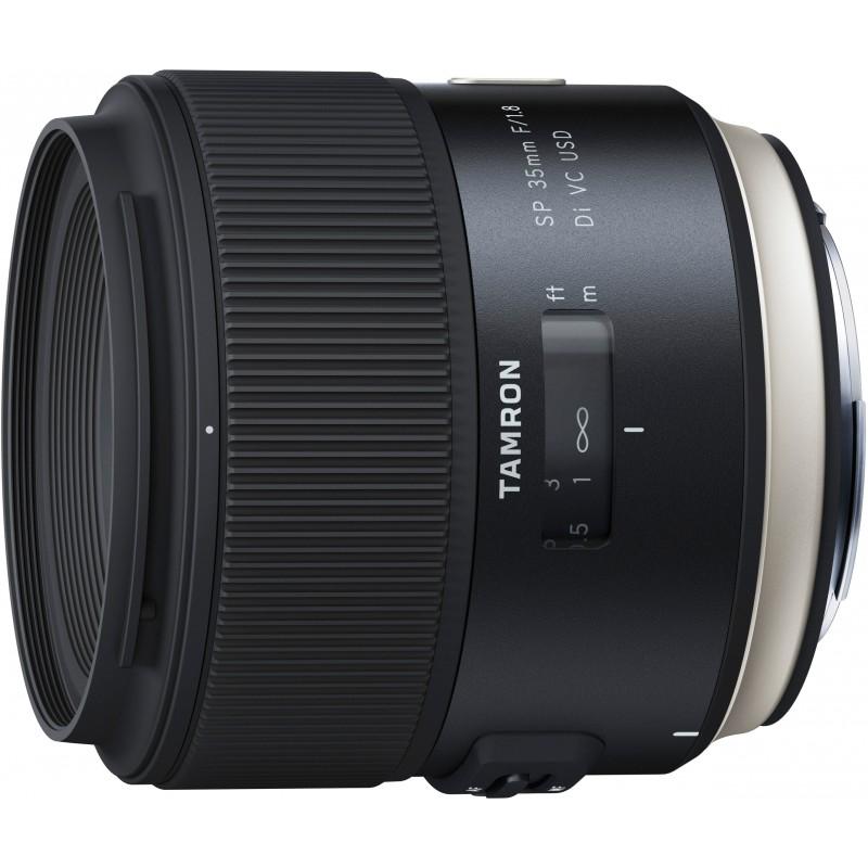 Tamron SP 35mm f/1.8 Di VC USD lens for Canon